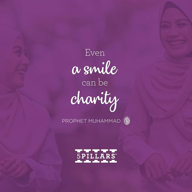 Share your best smile to people around you... because it's #sunnah 😊😊😊 . #jummahmubarak  #friday #5pillarsreminder #hadith