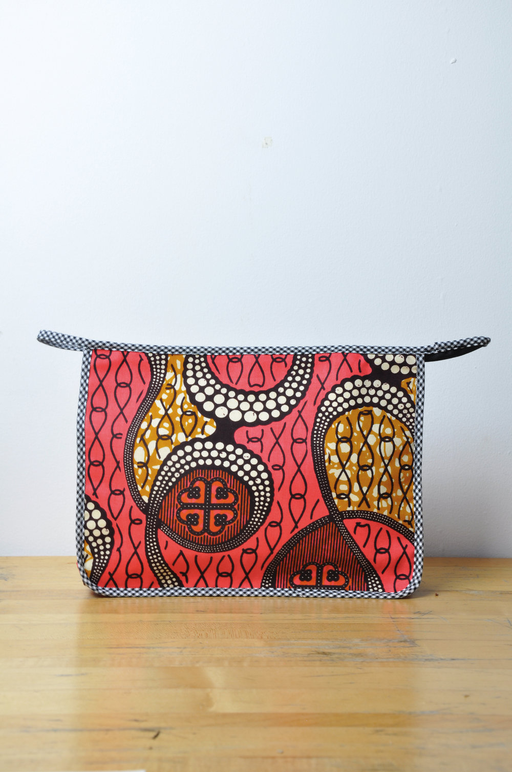 Kente Toiletry Bag 10