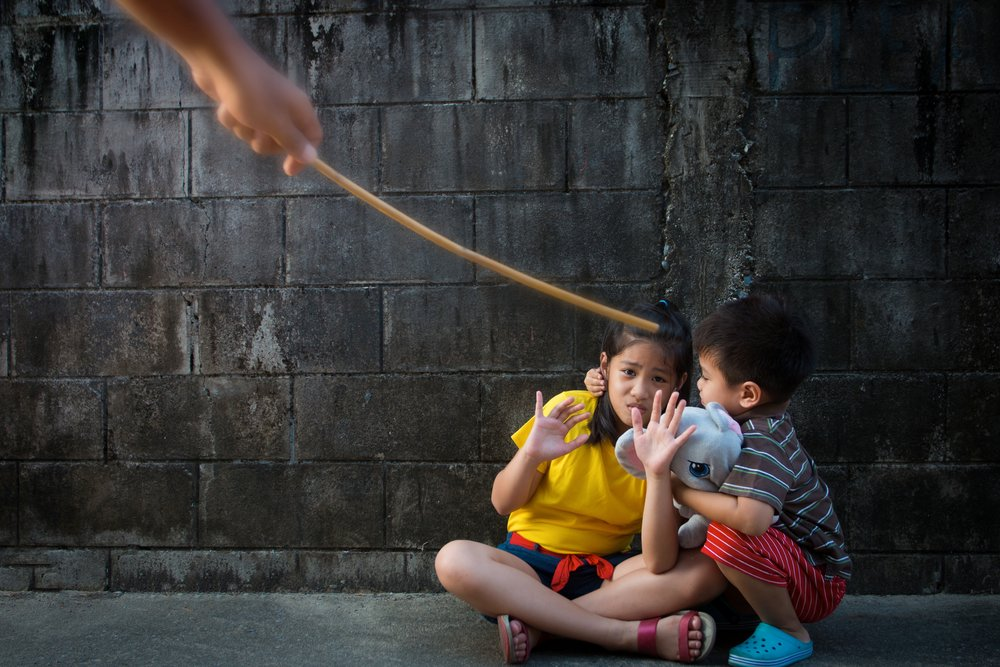 Spanking is ineffective and harmful to children @www.Relavate.org