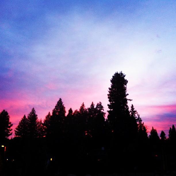 #tahoe #tahoesunset #tahoe clouds