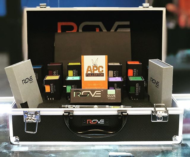 Fully restocked on ROVE products! Come pick up your favorite sativa, indica, our hybrids💨👌🏻 @rovebrand