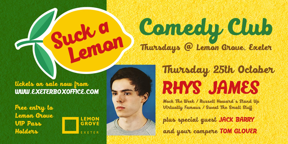 Copy of Rhys James - 25 October