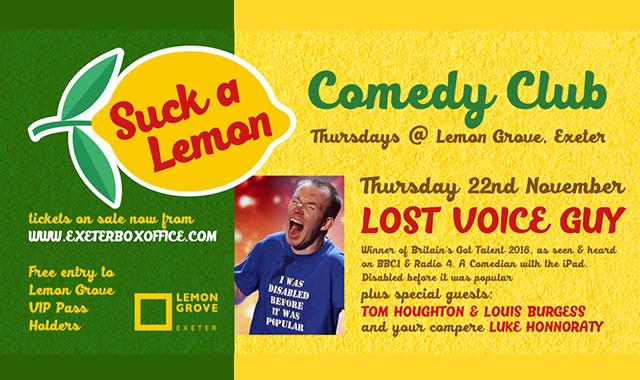 Lost Voice Guy - 22 November
