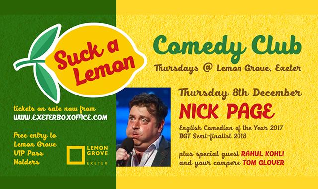 Nick Page - 6 December