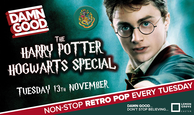 Copy of DAMN GOOD'S... HARRY POTTER'S HOGWARTS SHINDIG! - 13th November