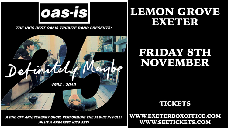 Oas-Is Oasis Tribute - 8 November