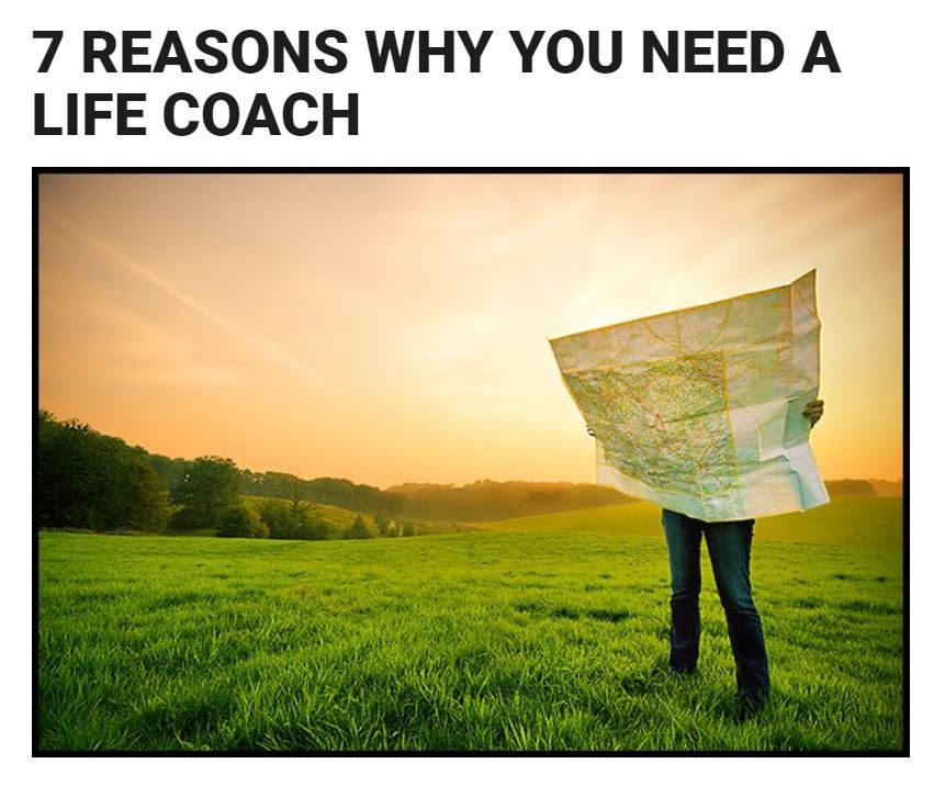 - Great overview of some of the benefits of life coaching