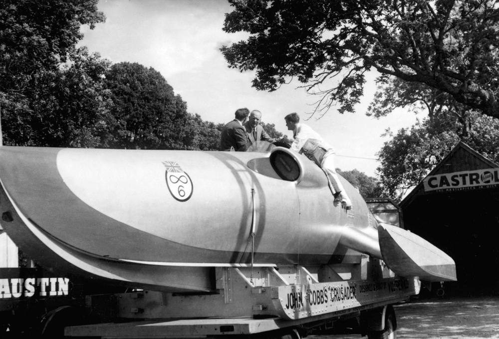 The Crusader jet powered boat - 1952