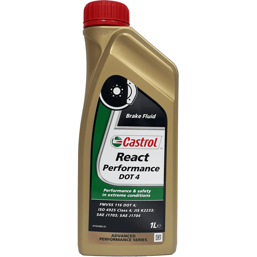 Castrol React Performance DOT4 brake fluid
