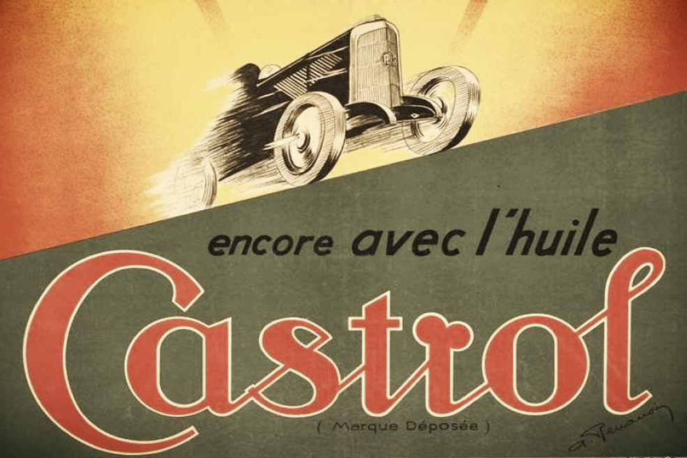 Castrol World Record Panhard
