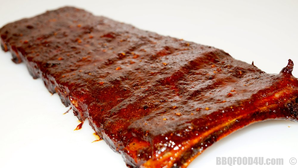 Sweet & Stick BBQ Ribs