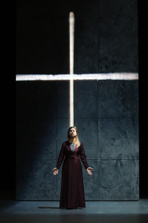 Blanche de la Force,  Dialogues des Carmélites , Francis Poulenc  © Moritz Weisskopf