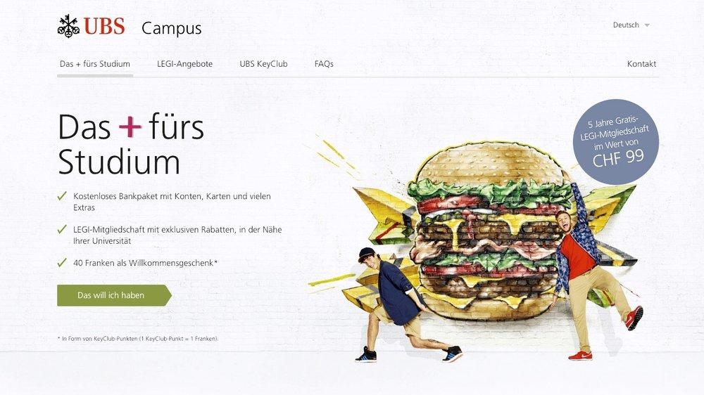 UBS Campus + Campaign