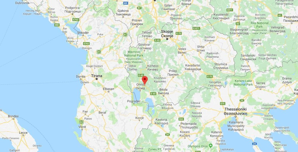 Zavoj, a small village in Macedonia, is one of the key case studies in  Migrant Housing .  Image: Google Maps.