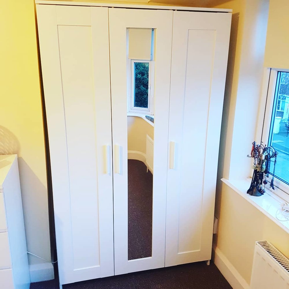 Fantastic - We were very impressed with the ease of arranging this service and the price quoted. We had two wardrobes to be assembled and Andy was flexible in when he could come, and the price was cheaper than others we were quoted. The assembly was excellent and the quality was great.