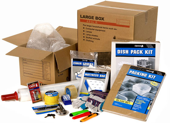 Moving Home Supplies - Storage Boxes and Packaging