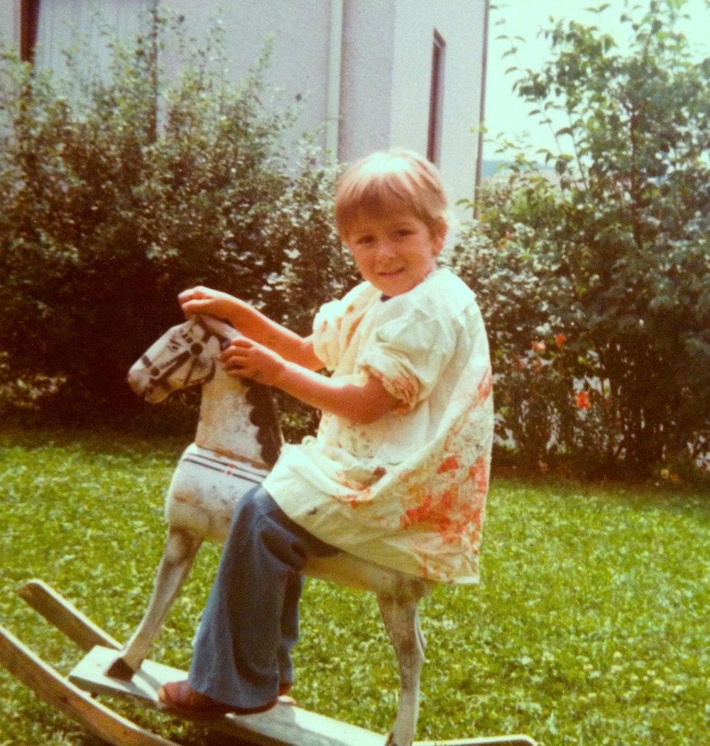 Ingo's Kindheit. Foto: privat