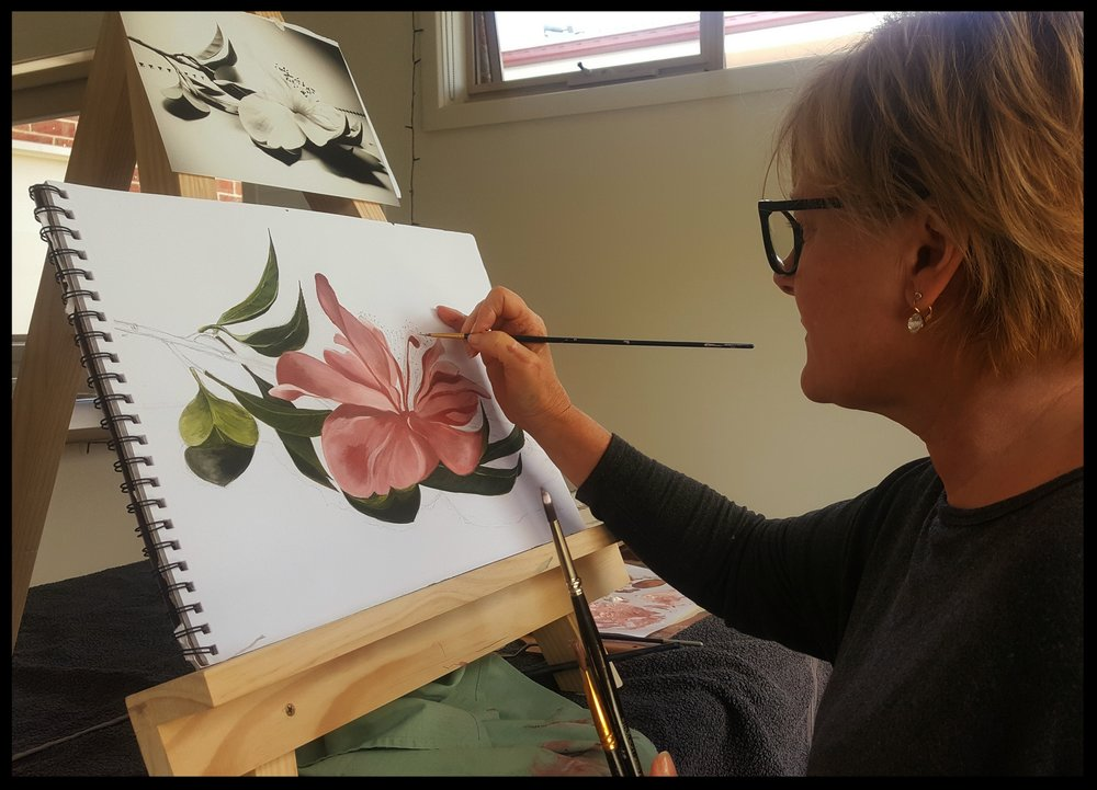 Painting with Oils - WEEKDAYS 10AM - 1PM AUGUST TO DECEMBER