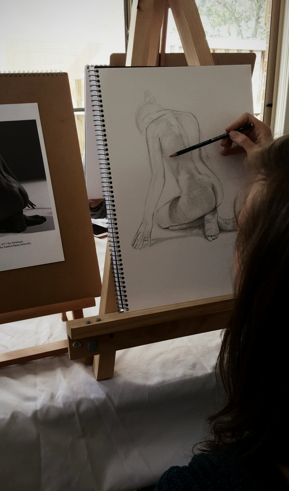 Drawing Suite II - Intermediate Figure Drawing Course