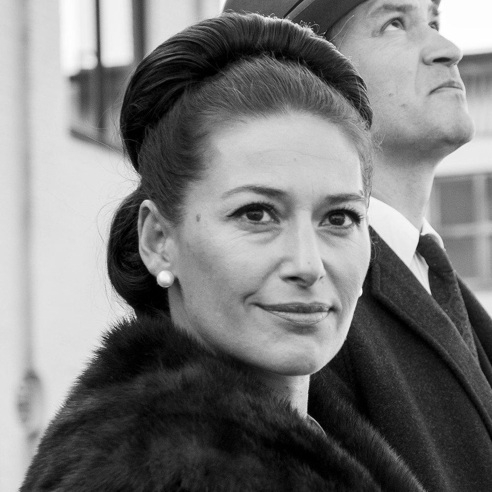 Pia Tjelta   Norsk skuespiller, aktuell med  Lykkeland .