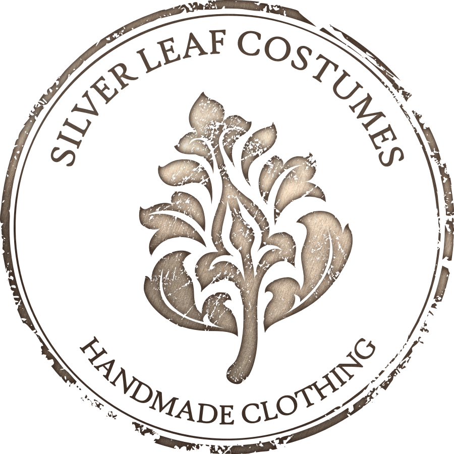 Silver Leaf Costumes Logo designed by Tarragon Studios
