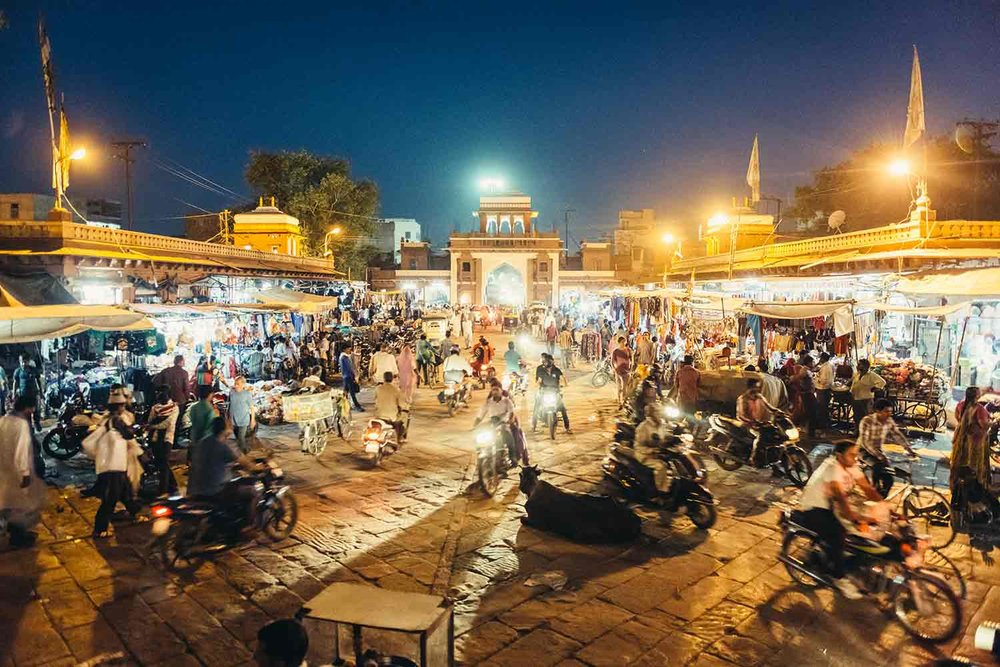 Sardar market in Jodhpur India
