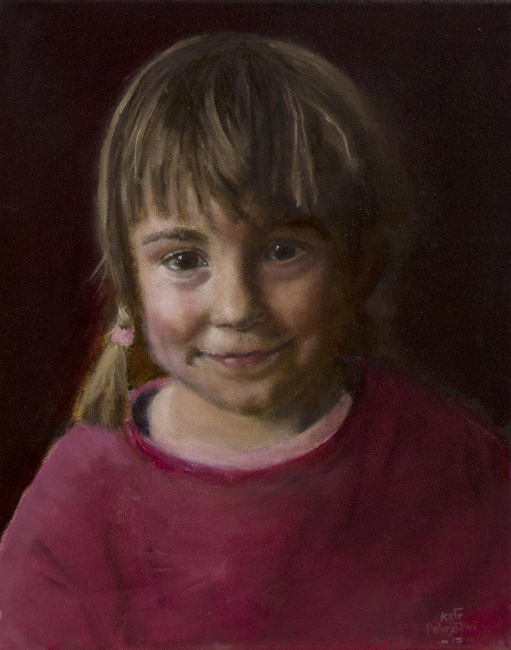 Kati Holopaisen maalaus