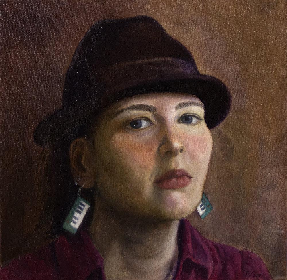 Tiina Vanhapellon maalaus