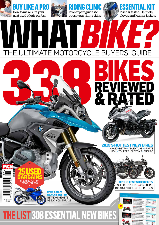 What Bike Winter 2018 issue