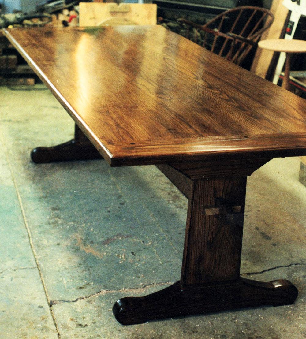 Trestle Table on Kelley's Island