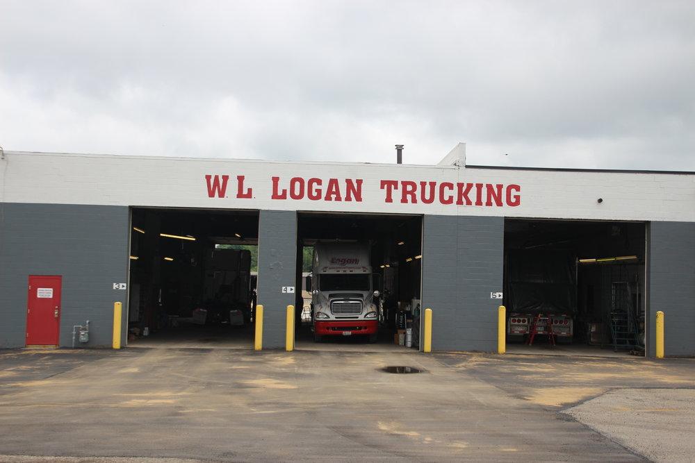 WL Logan Trucking Building