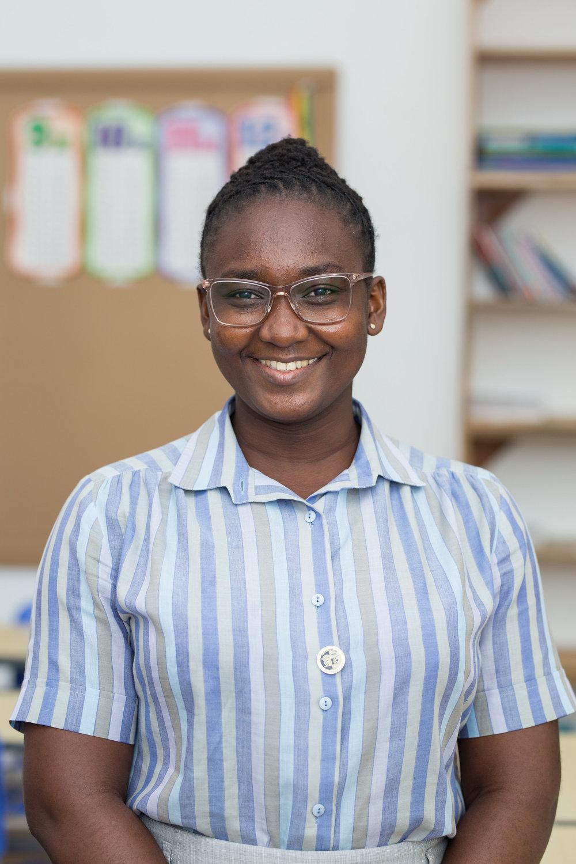 Abigail Attoh - Class Teacher (Primary 3) Subject Teacher - Math & History