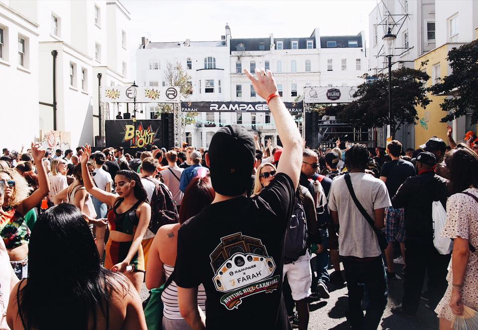 Rampage Stage @ Notting Hill Carnival 2017