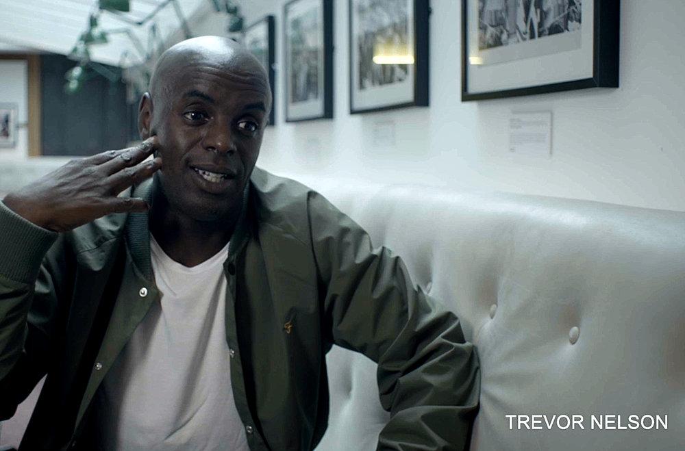 Trevor Nelson for 'Nice Up The Dance' Farah Documentary
