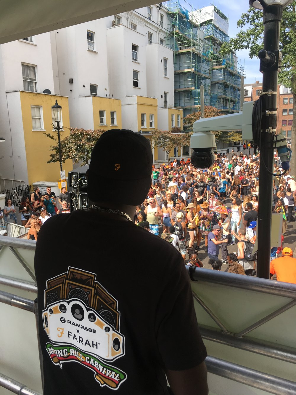 Rampage x Farah T Shirts @ Notting Hill Carnival