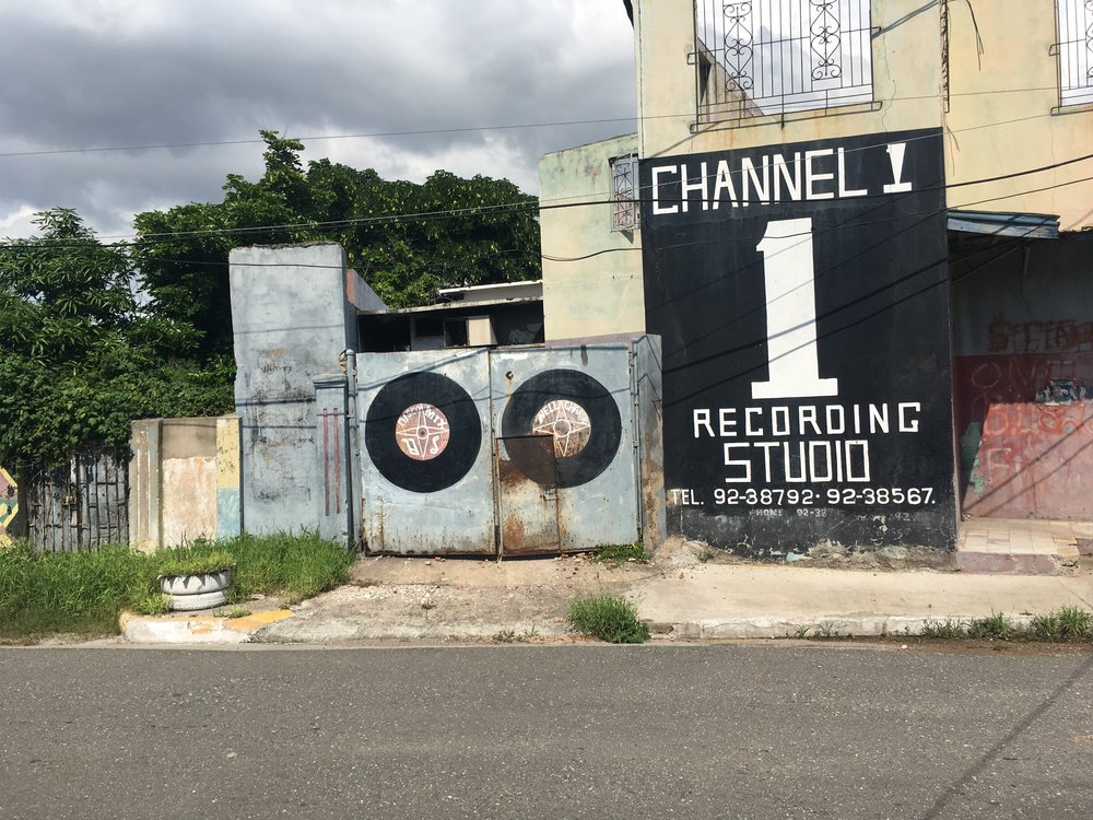 Channel 1 Recording Studio, Jamaica