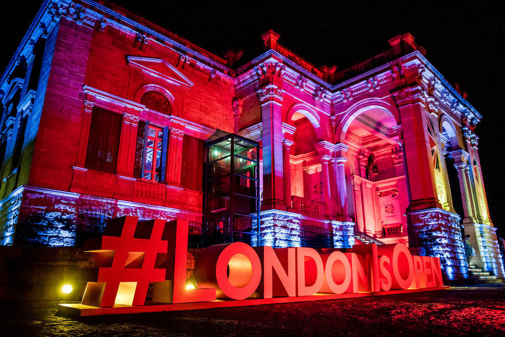 #LondonIsOpen campaign at Rio Olympics 2016