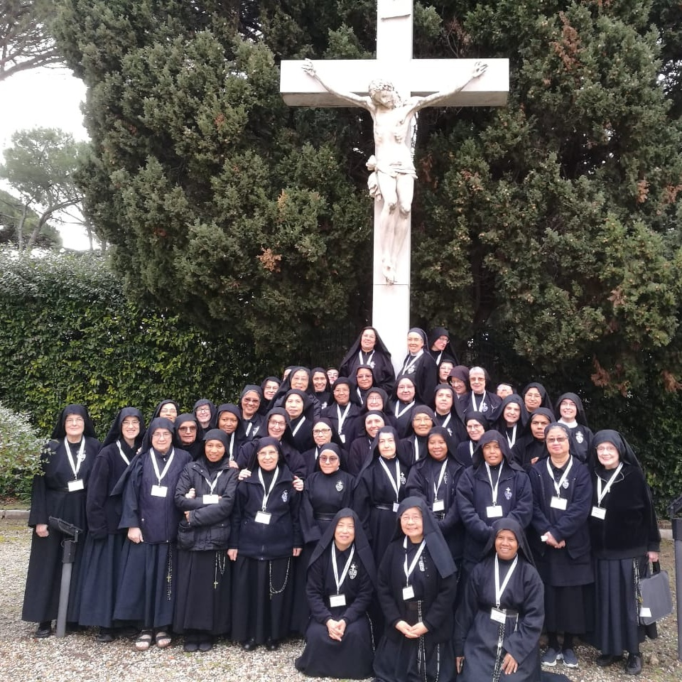 Delegates from Passionist monasteries all over the world