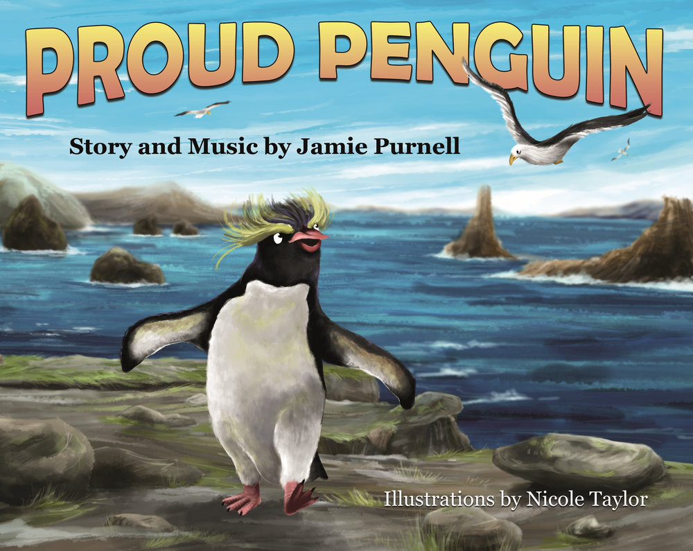 Proud Penguin Available Now!!! - A penguin befriends a seagull and learns a lesson about appreciating himself.BUY NOW