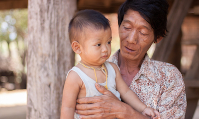 Child lives in Kinship care with relative(i.e.: grandparent, aunt/uncle) -