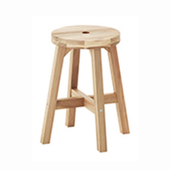Wood Stool x 4