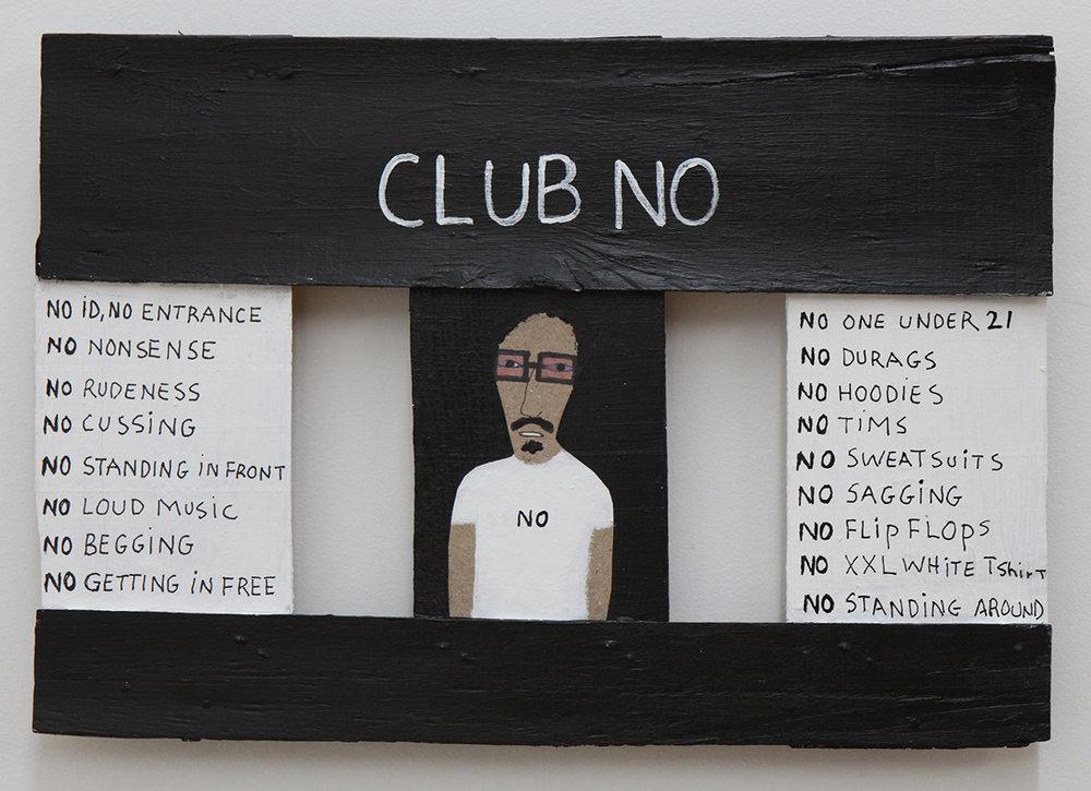 Patrick Earl Barnes_Club No_2016_28x24(cm).jpg