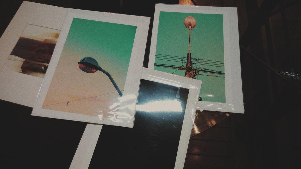 Fotografias de mesa. 20x30.