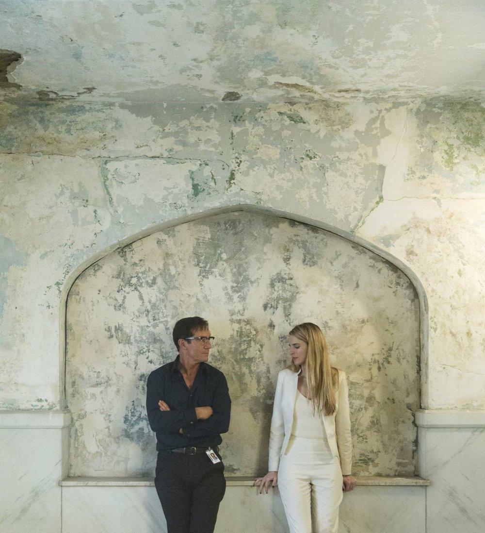 Daniel Rueda e Anna Devís, arte para The OA: Parte II, 2019. Cortesia da Netflix.