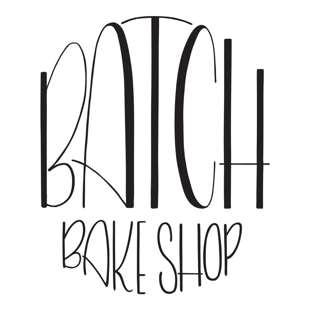 Custom Logo Design for Batch Bake Shop in Baltimore, Maryland