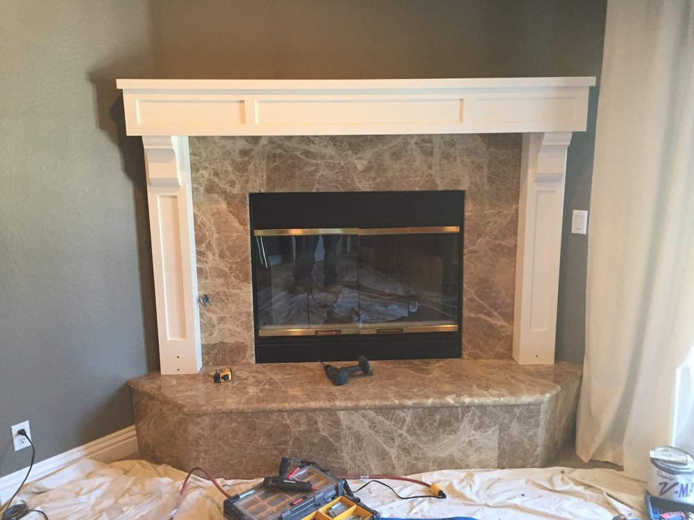 Riverside Fireplace Mantel