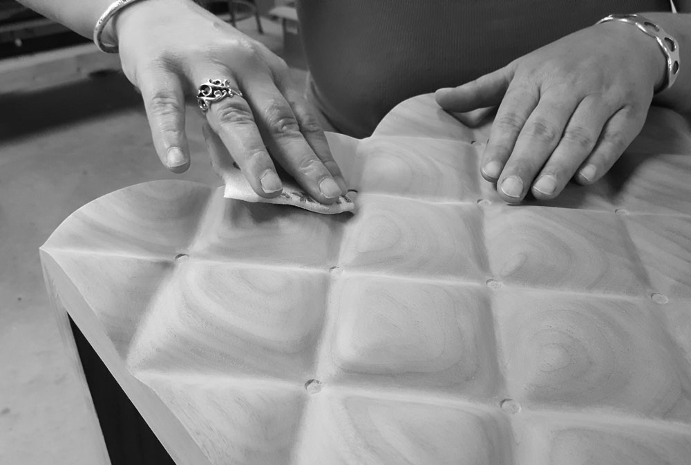 Design + The Hand Crafted Process - Fine craftsmanship comes from getting your hands dirty. When concepting a piece, the feel of the work is integral to the design. I often work through my designs by going back and forth between sculpting in clay, digitally modeling in the computer , and prototyping with a CNC machine until the design is finalized.
