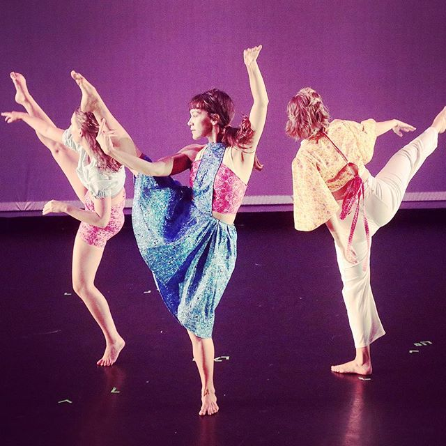 The colors! Dress rehearsal is complete for @thepilotdanceproject 's new show, The Sky Was Wild With Sunshine, by @ashleyhorndance_and_design ! It premieres tomorrow night and runs through Sunday only at @matchouston ! #yaydance #houdance #houarts #pilotdanceproject #houfringe2018 #houfringefest