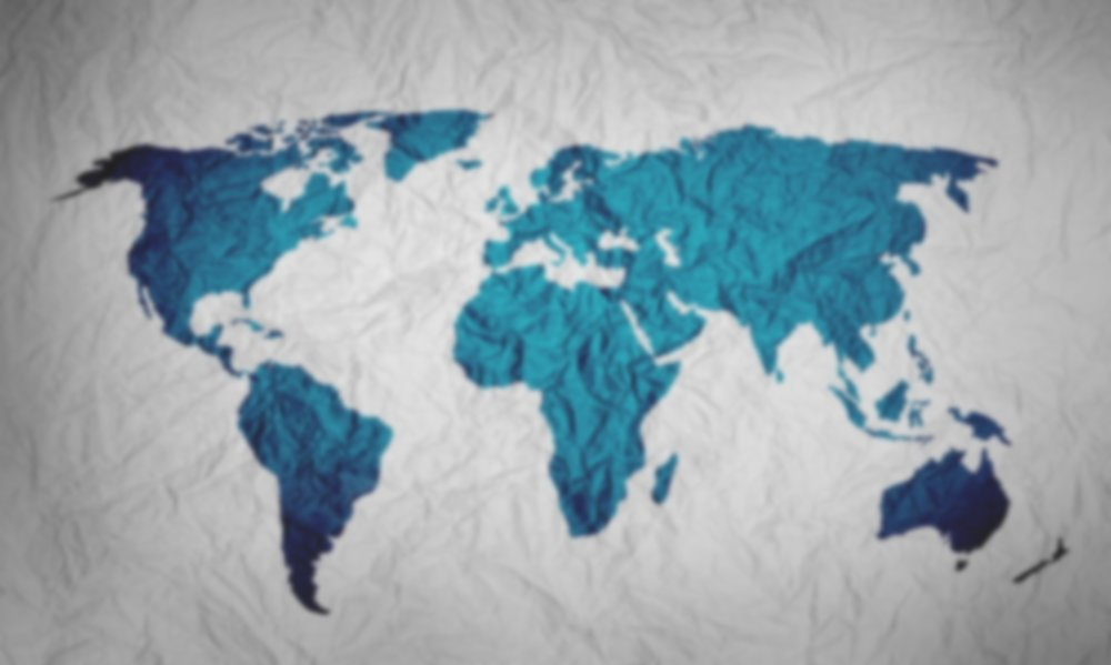 Environmental Data - An Augmented Reality Data map showing which countries are the biggest greenhouse gas emitters