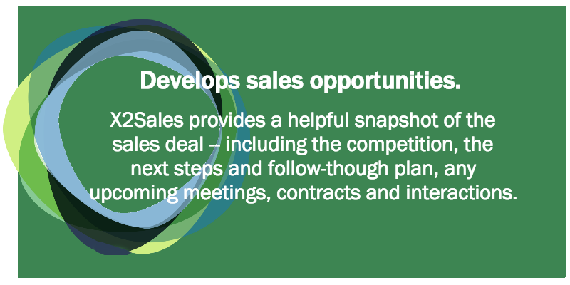Develops sales opportunities.